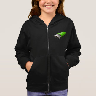 USb Flash Drive Girls Hoodie