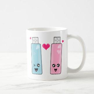 USB Flash Drive Love Coffee Mug