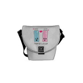 USB Flash Drive Love Courier Bag