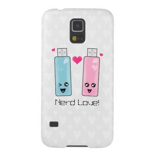USB Flash Drive Love Galaxy S5 Cover