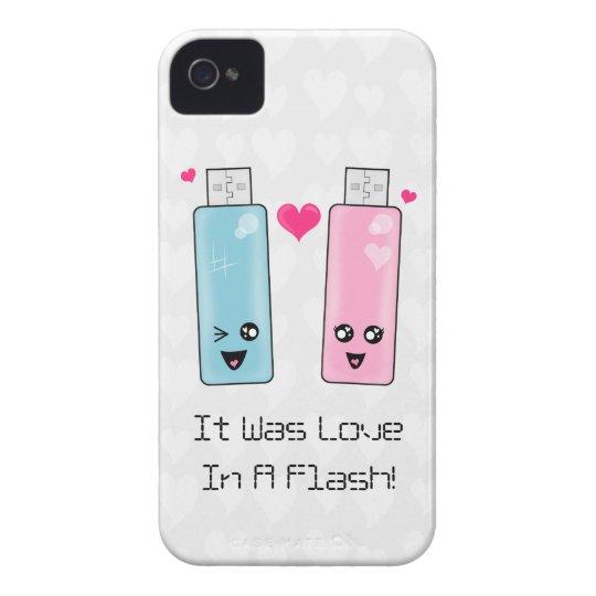 USB Flash Drive Love iPhone 4 Case-Mate Case