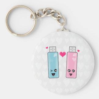USB Flash Drive Love Keychain