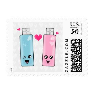 USB Flash Drive Love Postage