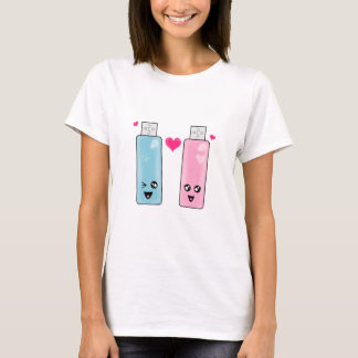 USB Flash Drive Love T-Shirt