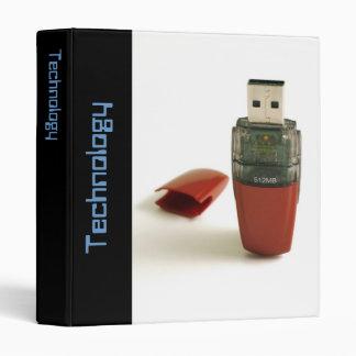 USB Flash pen 3 Ring Binder