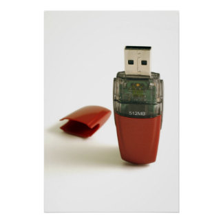 USB Flash pen Poster