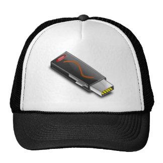 Usb_Flash_Vector_Clipart Trucker Hat