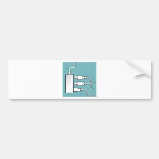 Usb Hub Bumper Sticker