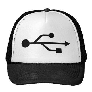 USB Logo Trucker Hat