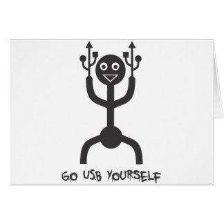 USB Man Card