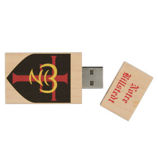 USB-Palillo de Notre Billstedt Memoria USB 3.0 De Madera