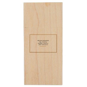 Usb Wooden Flash Drive by Casefashion at Zazzle