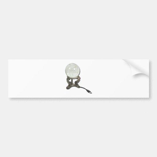 USBCrystalBall073011 Pegatina De Parachoque