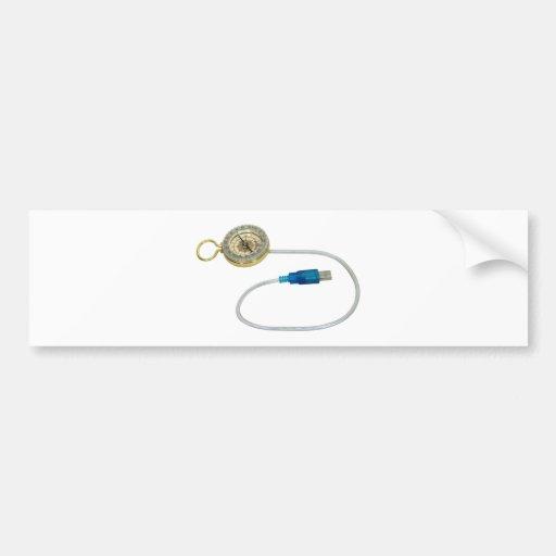 USBDirectionTool040509 Bumper Stickers