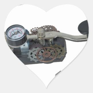 USBTelegraphKey062115 Heart Sticker