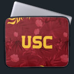 "USC Trojans | Hawaiian Pattern Computer Sleeve<br><div class=""desc"">Check out these official USC products. All of these products are customizable so you can add your class year,  name,  or sport. Personalize your USC merchandise on Zazzle.com!  You can find something here to show off your Trojan pride every day!</div>"