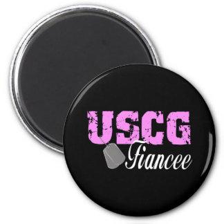 uscg99fiancee2blk magnet