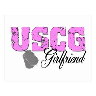 uscg99girlfriend2 tarjetas postales