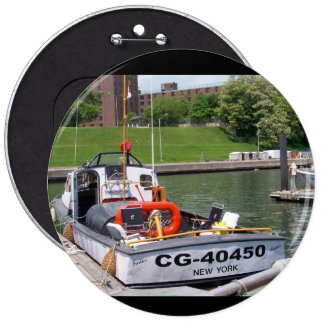 USCG 40 Foot Utility Boat Large # 40450 Button