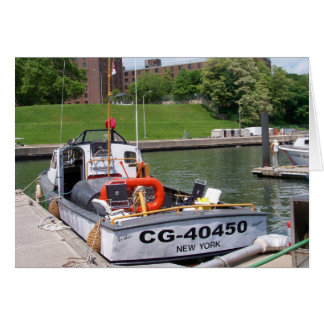 USCG 40 Foot Utility Boat Large # 40450 Note Card