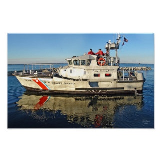 USCG 47-foot Motor lifeboat Poster