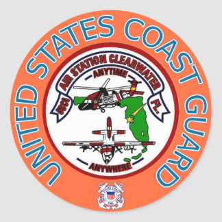 USCG  Air Station Clearwater Sticker