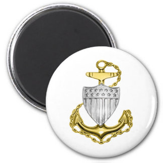 USCG Anchor Fridge Magnets