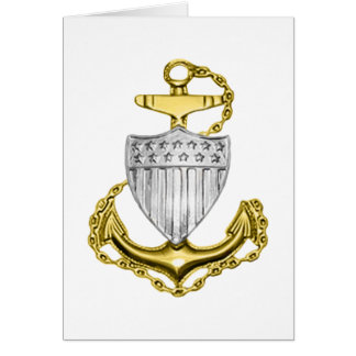 USCG Anchor Greeting Cards