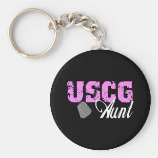 USCG Aunt Keychain