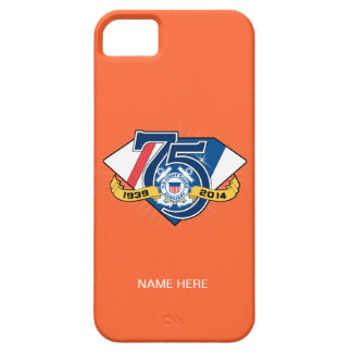USCG Auxiliary 75th Anniversary iPhone SE/5/5s Case