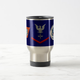USCG Aviation Maintenance Technician Third Class Travel Mug