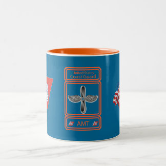 USCG Aviation Maintenance Technician Two-Tone Coffee Mug
