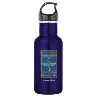 USCG Aviation Maintenance Technician Water Bottle
