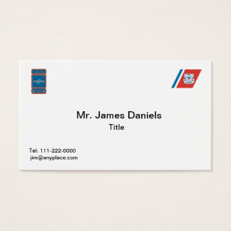 USCG Avionics Electrical Technician Business Card