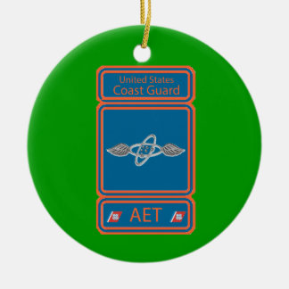 USCG Avionics Electrical Technician Ceramic Ornament