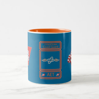 USCG Avionics Electrical Technician Two-Tone Coffee Mug