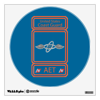 USCG Avionics Electrical Technician Wall Sticker
