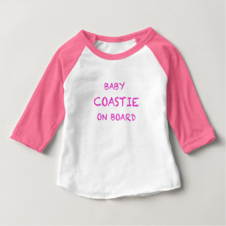 USCG Baby American Apparel 3/4 Sleeve Baby T-Shirt