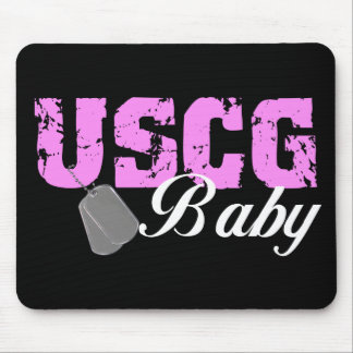 USCG Baby Mouse Mats