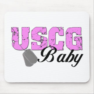 USCG Baby Mouse Mat