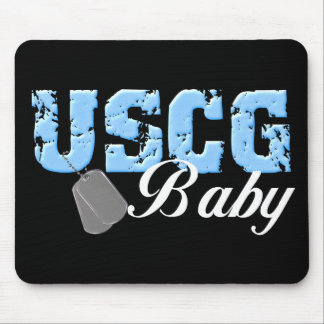 USCG Baby Mouse Pad