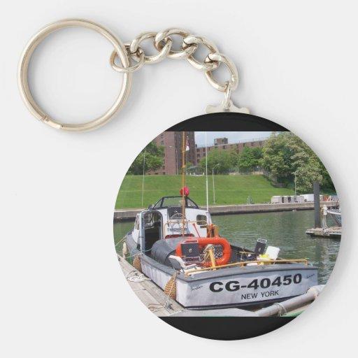 USCG barco para uso general # 40450 grandes de 40  Llavero Personalizado