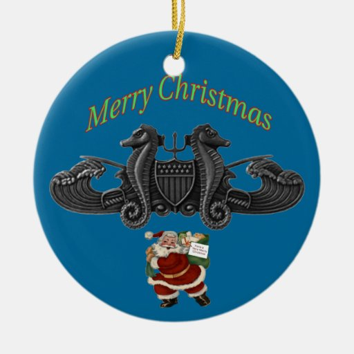 USCG Basic USCG Port Security Pin Ornament