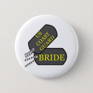 USCG Bride Pinback Button