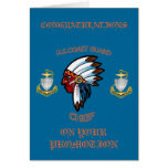 USCG  Chief Petty Officer Promotion Card