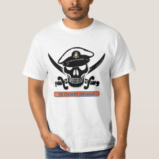 USCG Chief Skull Crossed Swords Shirt