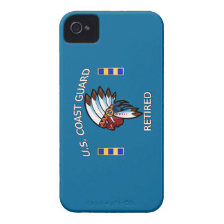USCG Chief Warrant Officer 2 Retired Case-Mate iPhone 4 Case