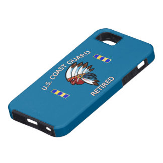 USCG Chief Warrant Officer 2 Retired iPhone SE/5/5s Case