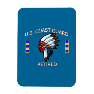 USCG Chief Warrant Officer 2 Retired Magnet