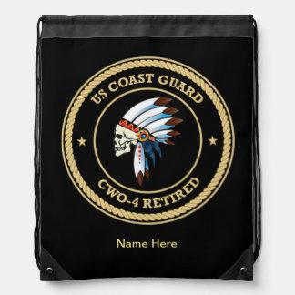 USCG Chief Warrant Officer 4 Cinch Bag